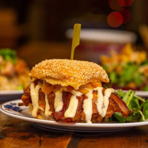 """The """"Holy Wow"""" Chicken Sandwich From Umami in Northwood NH (WOW!)"""