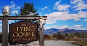 A Family Meal at The Flying Goose Brew Pub New London NH