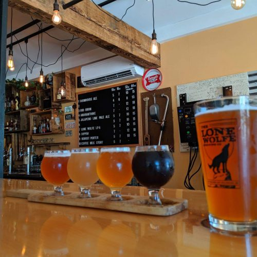 The Lone Wolfe Brewing Company