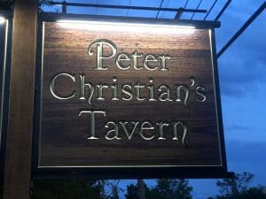 A Perfect Visit To Peter Christian's Tavern in New London NH