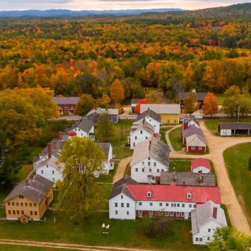 Go On A Trip Back Through Time When You Visit The Canterbury Shaker Village
