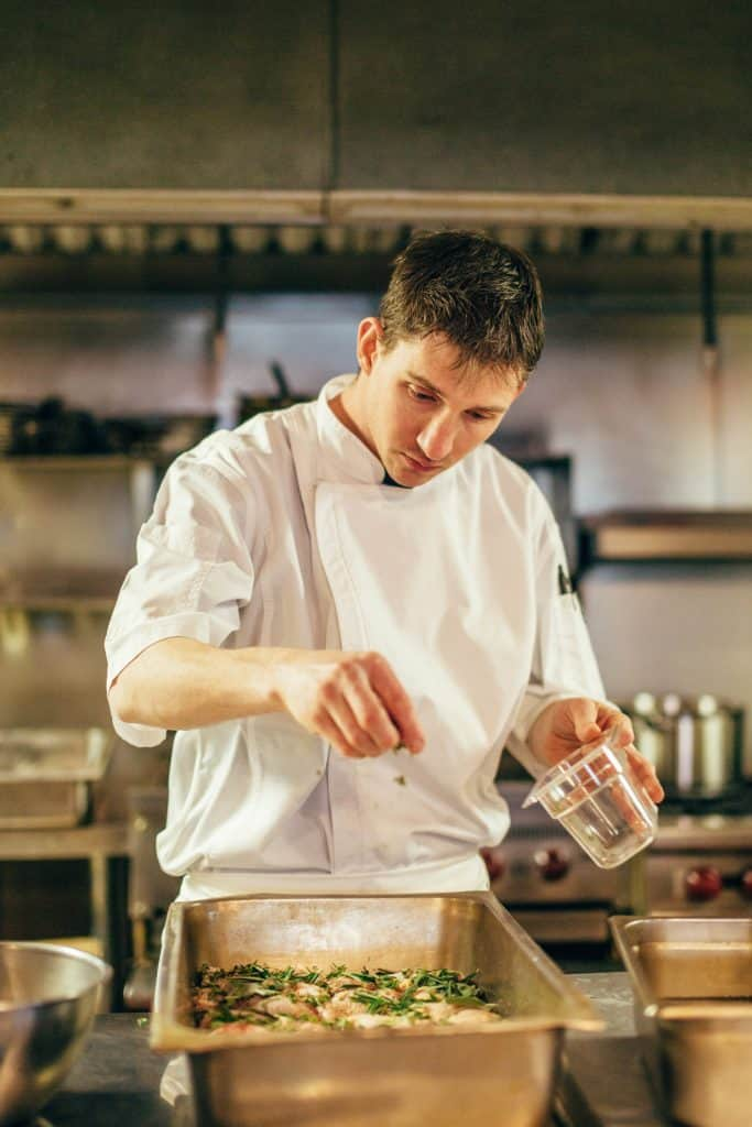 chef corey fletcher of revival kitchen and bar