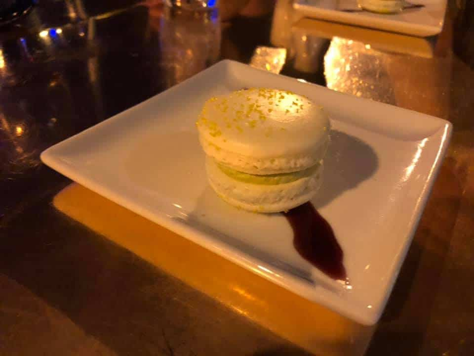 French macron at Revival Kitchen