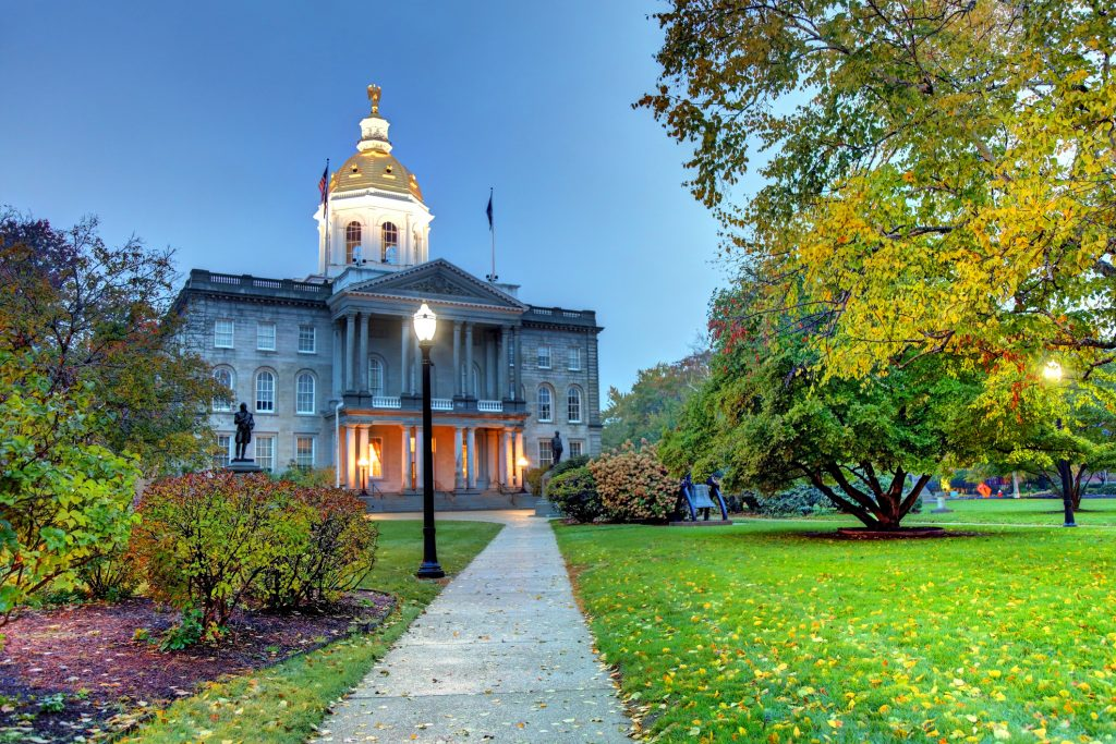 Concord NH state house